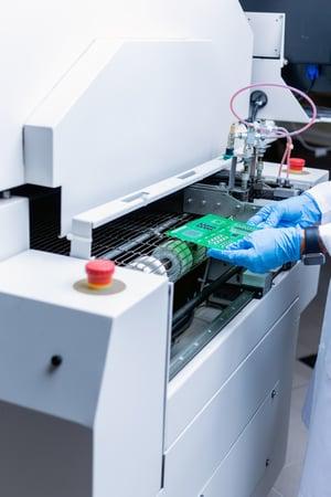 CU PCB in Oven-min
